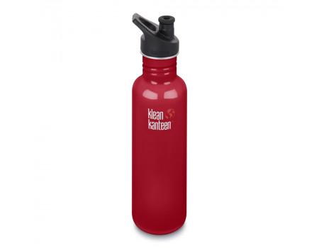 Спортивная бутылка Klean Kanteen Classic Sport 800мл Mineral Red
