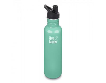 Спортивная бутылка Klean Kanteen Classic Sport 800мл Sea Crest