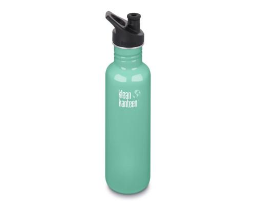 Спортивная бутылка Klean Kanteen Classic Sport 800мл - Sea Crest