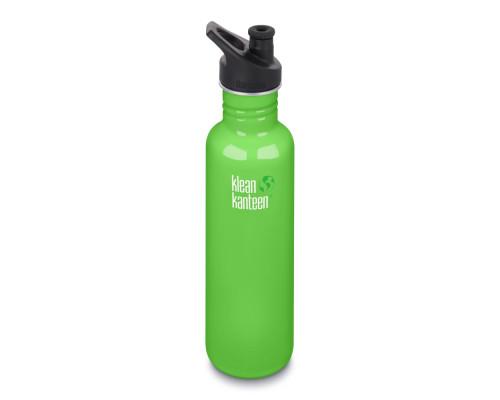 Спортивная бутылка Klean Kanteen Classic Sport 800мл - Spring Green