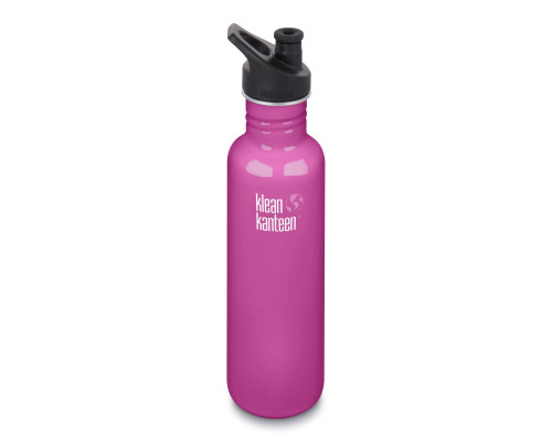 Спортивная бутылка Klean Kanteen Classic Sport 800мл - Wild Orchid