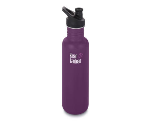 Спортивная бутылка Klean Kanteen Classic Sport 800мл - Winter Plum