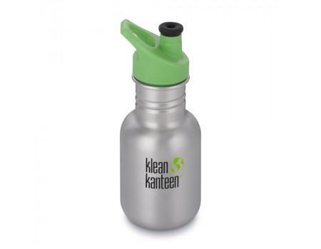 Детская бутылка для воды из нержавеющей стали Klean Kanteen Kid Sport Brushed Stainless