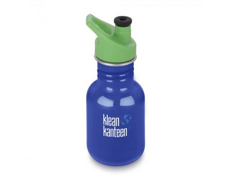 Детская бутылка для воды из нержавеющей стали Klean Kanteen Kid Sport Coastal Waters