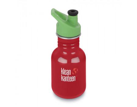 Детская бутылка для воды из нержавеющей стали Klean Kanteen Kid Sport Mineral Red