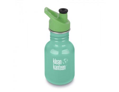Детская бутылка для воды из нержавеющей стали Klean Kanteen Kid Sport Sea Crest