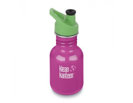 Детская бутылка для воды из нержавеющей стали Klean Kanteen Kid Sport Wild Orchid