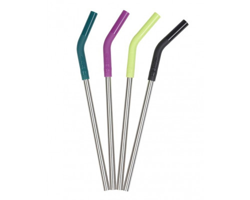 Многоразовые трубочки для напитков Klean Kanteen Steel Straws Multi Color