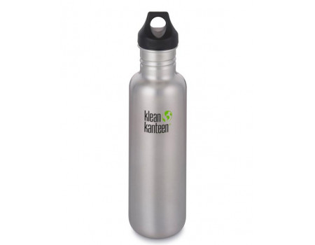 Многоразовая бутылка Klean Kanteen Classic Loop 800мл Brushed