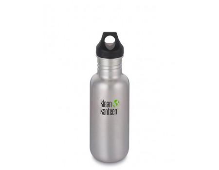 Многоразовая бутылка Klean Kanteen Classic Loop 532мл Brushed