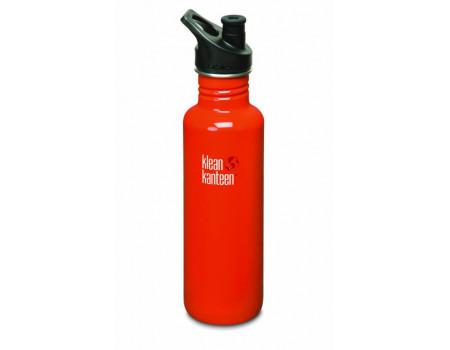 Спортивная бутылка Klean Kanteen Classic Sport 800мл Flame Orange