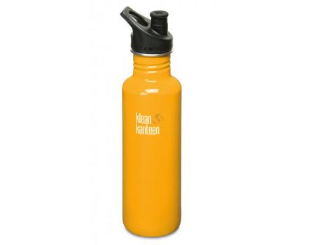 Спортивная бутылка Klean Kanteen Classic Sport 800мл Golden Poppy