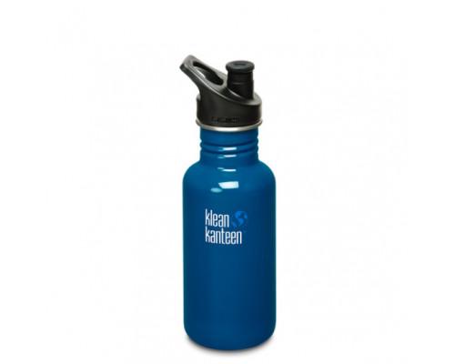 Спортивная бутылка Klean Kanteen Classic Sport 532мл - Blue Planet