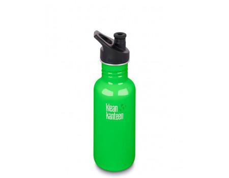 Спортивная бутылка Klean Kanteen Classic Sport 532мл Spring Green