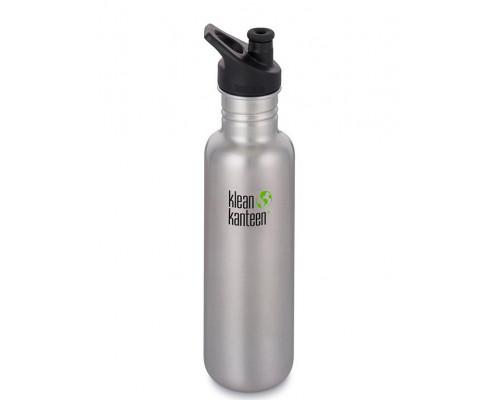 Спортивная бутылка Klean Kanteen Classic Sport Brushed 800 мл