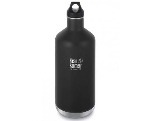 Термобутылка Klean Kanteen Insulated Classic Loop 1900 мл Shale Black