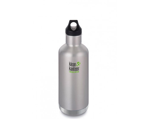 Термобутылка Klean Kanteen Insulated Classic Loop 946 мл Brushed Stainless