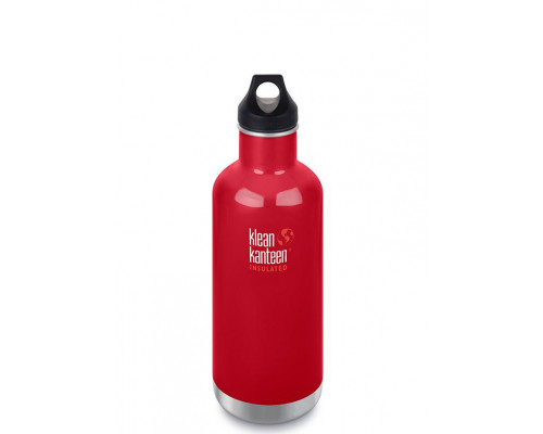 Термобутылка Klean Kanteen Insulated Classic Loop 946 мл Mineral Red