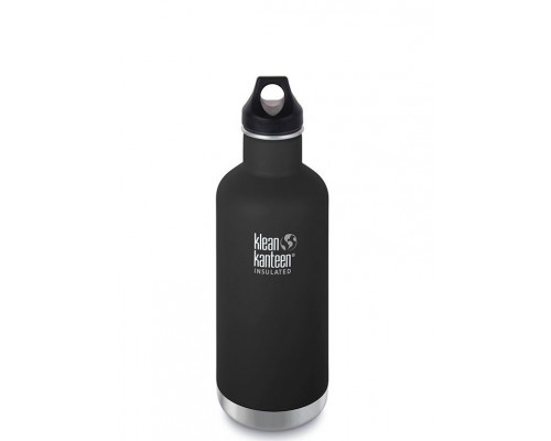Термобутылка Klean Kanteen Insulated Classic Loop 946 мл Shale Black