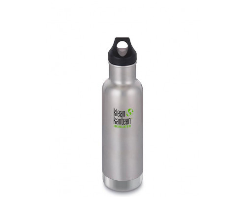 Термобутылка Klean Kanteen Insulated Classic Loop 592 мл Brushed Stainless