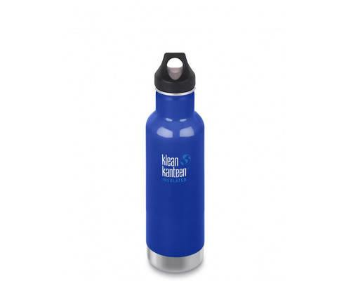 Термобутылка Klean Kanteen Insulated Classic Loop 592 мл Coastal Waters