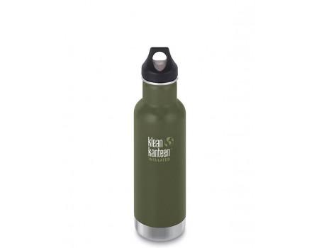 Термобутылка из нержавеющей стали Klean Kanteen Insulated Classic Loop Fresh Pine 592мл