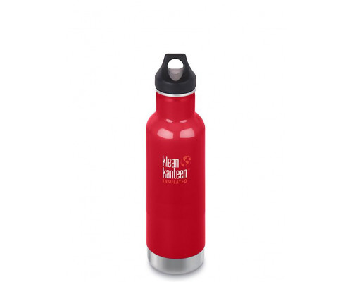 Термобутылка Klean Kanteen Insulated Classic Loop 592 мл Mineral Red