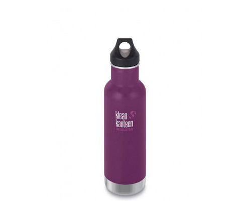 Термобутылка Klean Kanteen Insulated Classic Loop 592 мл Winter Plum