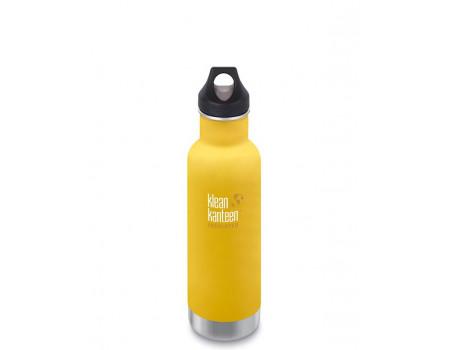 Термобутылка из нержавеющей стали Klean Kanteen Insulated Classic Loop Lemon Curry 592мл