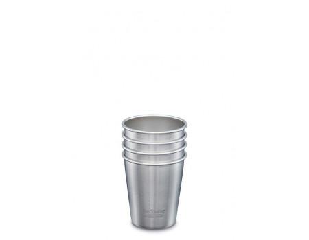 Набор многоразовых стаканов Klean Kanteen Steel Cup 296мл
