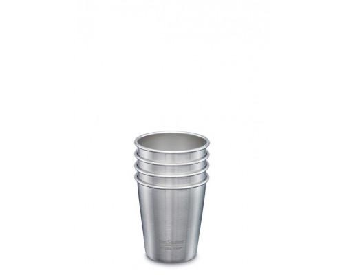 Набор многоразовых стаканов Klean Kanteen Steel Cup 296мл, 4 шт.