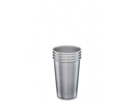 Набор многоразовых стаканов Klean Kanteen Steel Cup 473мл