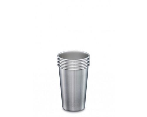 Набор многоразовых стаканов Klean Kanteen Steel Cup 473мл, 4 шт.