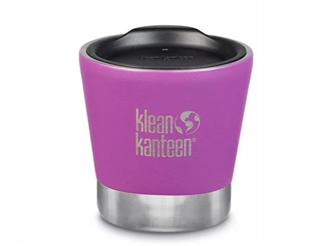 Вакуумный термостакан из нержавеющей стали с крышкой Klean Kanteen Insulated Tumbler 237мл Berry Bright