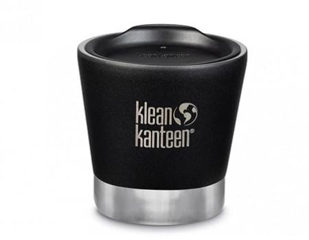 Вакуумный термостакан из нержавеющей стали с крышкой Klean Kanteen Insulated Tumbler 237мл Shale Black