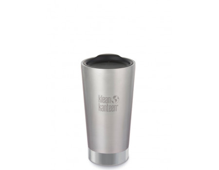 Вакуумный термостакан из нержавеющей стали с крышкой Klean Kanteen Insulated Tumbler 473мл Brushed Stainless