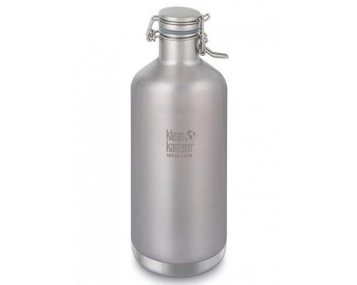 Стальная термобутылка - гроулер Klean Kanteen Growler 1900 мл