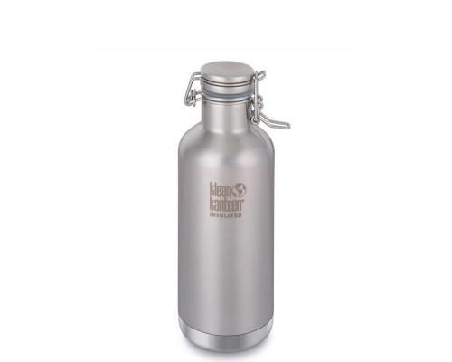 Стальная термобутылка - гроулер Klean Kanteen Growler 946мл