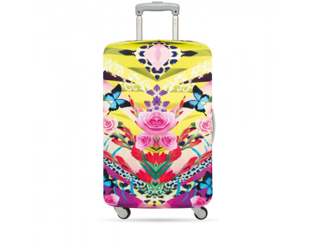 LOQI LUGGAGE COVER M - SHINPEI NAITO Flower Dream