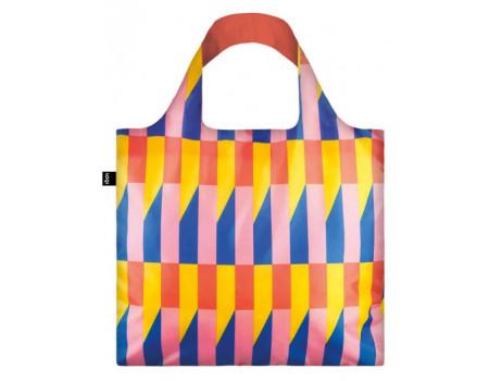 Многоразовая сумка LOQI FASHION - GEOMETRIC Stripes
