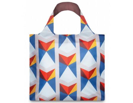 Многоразовая сумка LOQI FASHION - GEOMETRIC Triangles