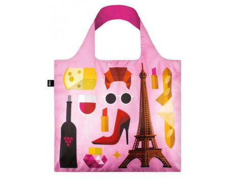 Многоразовая сумка LOQI FASHION - Hey Paris