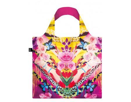 Многоразовая сумка LOQI FASHION - Flower Dream