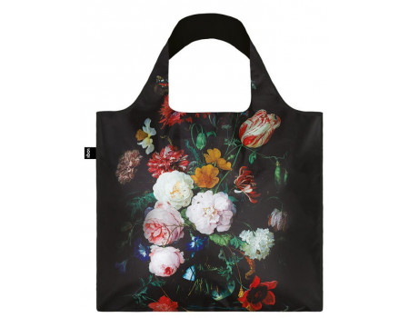 Складная сумка из ткани Loqi Museum - Still Life with Flowers