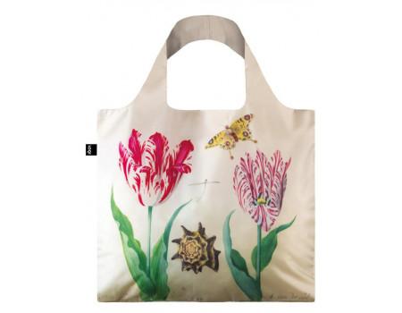 Складная сумка из ткани Loqi Museum - Two Tulips