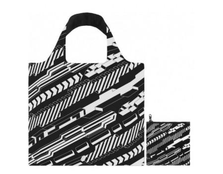 Многоразовая сумка LOQI FASHION - Uberpup Blocks