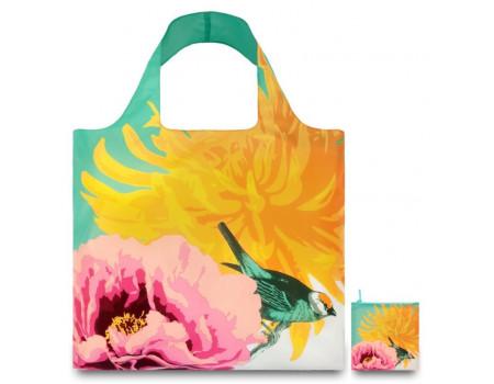 Многоразовая сумка LOQI Botany Bird