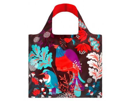 Многоразовая сумка LOQI Forest Bird
