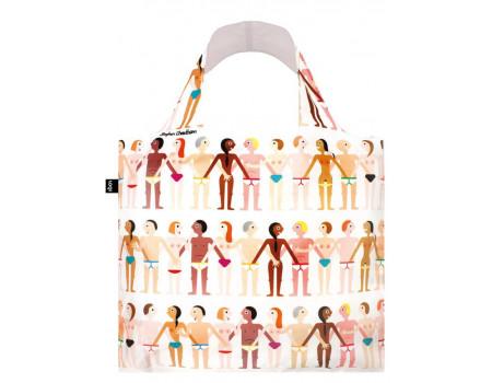 Многоразовая сумка LOQI Cheetham Sexy