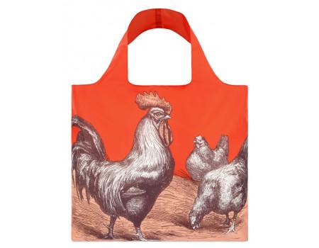 Многоразовая сумка LOQI Rooster